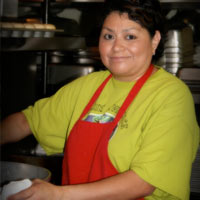 Blanca Cibrian - Food Services Director